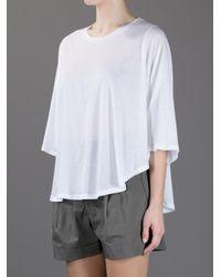 Stella McCartney - White Bow Detail Shirt - Lyst