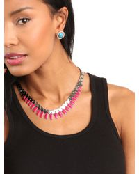 BaubleBar | Metallic Gear Necklace | Lyst