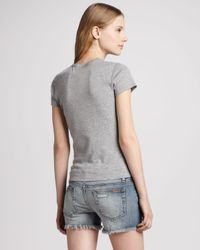 Joe's Jeans - Blue Easy Cutoff Jean Shorts - Lyst