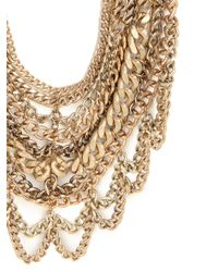 BaubleBar - Metallic The Courtney Bib - Lyst
