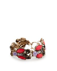 Mango | Multicolor Touch Color Stones Bracelet | Lyst