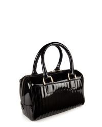 Ted Baker | Black Marquez Quilted Mini Bowler | Lyst
