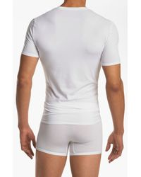 Tommy John | White 'cool Cotton' Crewneck Undershirt for Men | Lyst