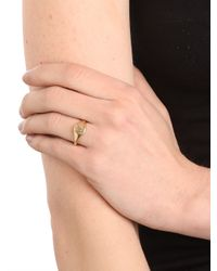 BaubleBar - Metallic Ariel Gordon Gold Classic Signet Ring - Lyst