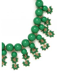 BaubleBar | Green Ariel Necklace | Lyst