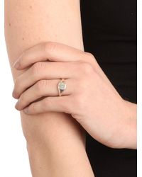 Ariel Gordon | Metallic Silver Classic Signet Ring Ships 4 Weeks From Order Date | Lyst