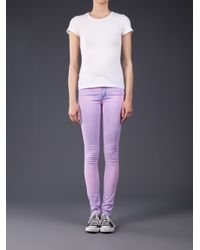 Naked & Famous - Purple Thermochromatic Skinny Jean - Lyst