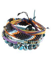 ALDO - Blue Fermond Bracelet Pack for Men - Lyst