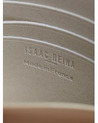 Isaac Reina - White Positive Circle Card Holder - Lyst