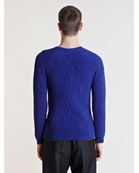Jil Sander - Blue Sweater for Men - Lyst