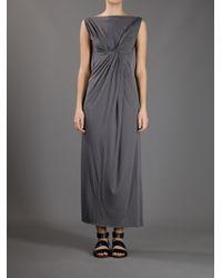 Rick Owens Lilies - Gray Knot Dress - Lyst