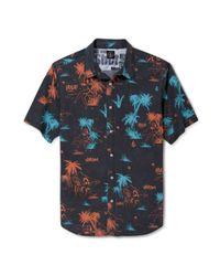 Volcom | Black Mental Fun Short Sleeve Shirt for Men | Lyst