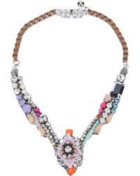 Shourouk - Multicolor Shourouk Tabatha Necklace - Lyst
