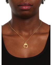 BaubleBar | Metallic Gold Handcuff Charm | Lyst