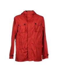 Edun - Red Mid-length Jacket for Men - Lyst
