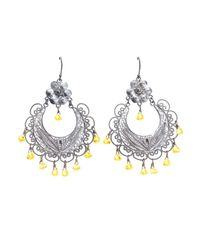 First People First - Gray Earrings - Lyst