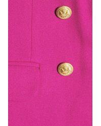 J.Crew - Pink Woolcrepe Blazer - Lyst