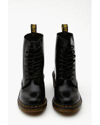 Nasty Gal | Black Clemency 8 Eye Boot | Lyst
