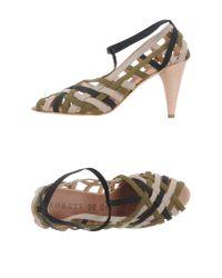 Acrobats Of God - Green High-heeled Sandals - Lyst