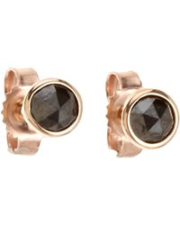 Finn | Metallic Circular Stud Earrings | Lyst