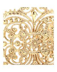 Iam By Ileana Makri - Metallic Chantilly Lace Cuff Bracelet - Lyst
