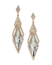 BaubleBar | Blue Ice Deco Dia Drops | Lyst