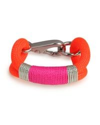 BaubleBar | The Ropes Maine Orange Kennebunkport Bracelet | Lyst