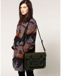 Cambridge Satchel Company | Green Satchel | Lyst