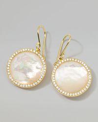 Ippolita | Metallic Rock Candy 18k Gold Lollipop Diamond Earrings | Lyst