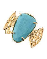 Kendra Scott | Blue Maya Turquoise Cuff | Lyst