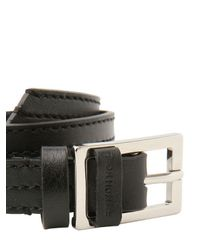 Dior Homme | Black Double Wrap Leather Bracelet for Men | Lyst