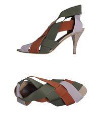 Acrobats Of God - Green Highheeled Sandals - Lyst
