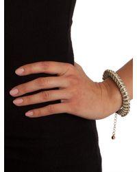 BaubleBar | Green Mint Gem Coil Bracelet | Lyst