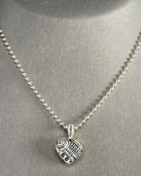 Lagos   Metallic Heart Of Philly Necklace   Lyst