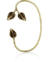 Pamela Love - Metallic Maia Bronze Leaf Ear Cuff - Lyst