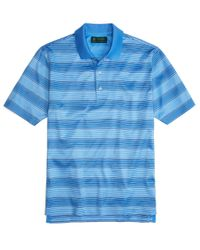 Brooks Brothers - Blue St Andrews Links Two-tone Stripe Polo Shirt for Men - Lyst
