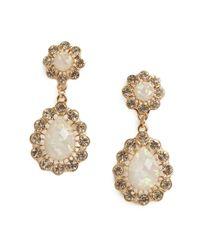BaubleBar - Metallic Opal Floral Drops - Lyst