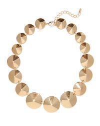 BaubleBar - Metallic Gold Cone Strand - Lyst