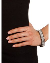 BaubleBar - Gray Sparkle Otto Bangle - Lyst