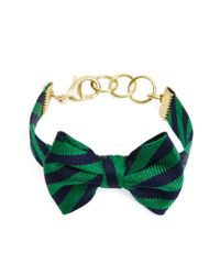Brooks Brothers | Green Kiel James Patrick Bb#5 Bow-Tie Bracelet | Lyst