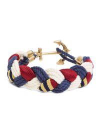 Brooks Brothers - Blue Kiel James Patrick Bb#1 Braided Bracelet - Lyst