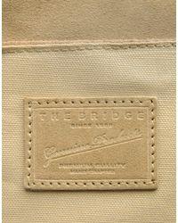 The Bridge - Natural Shoulder Bag - Lyst