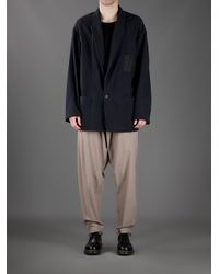 Damir Doma - Natural Drop Crotch Tapered Trouser for Men - Lyst