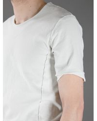 Individual Sentiments - White Deconstructed T Shirt for Men - Lyst