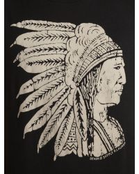 Denim & Supply Ralph Lauren | Black Chief Printed Tshirt for Men | Lyst