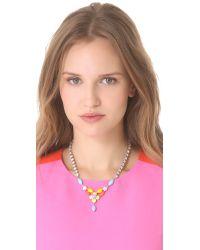 Tom Binns - Multicolor Soft Power Flower Bib Necklace - Lyst