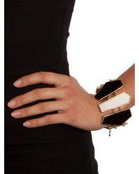 BaubleBar | Black Piano Penta Bracelet | Lyst