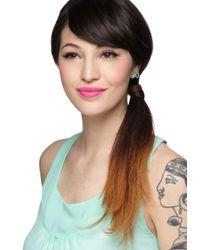 ModCloth - Green Smarty Glance Earrings - Lyst