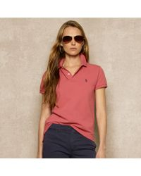 Ralph Lauren Blue Label - Red Classicfit Polo for Men - Lyst