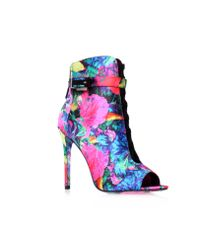 B Brian Atwood | Pink Lindford2 Boots | Lyst